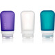 humangear GoToob+ 3-Pack Medium 74ml Clear/Purple/Turquoise